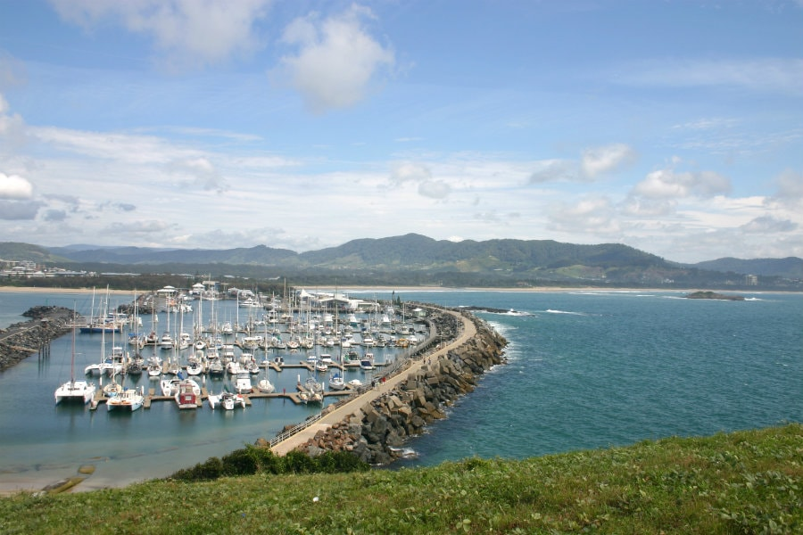 coffs harbour marina view