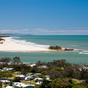 View of Maroochydore, Sunshine Coast