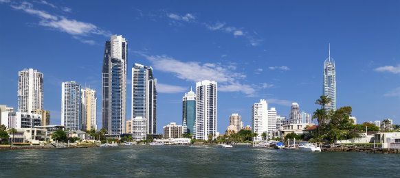 view of surfers paradise on the gold coast