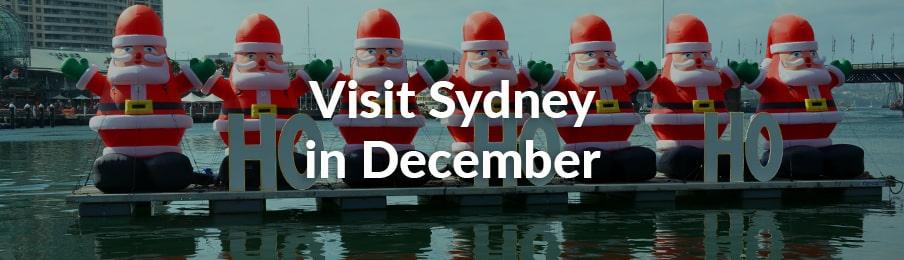 visit sydney in december