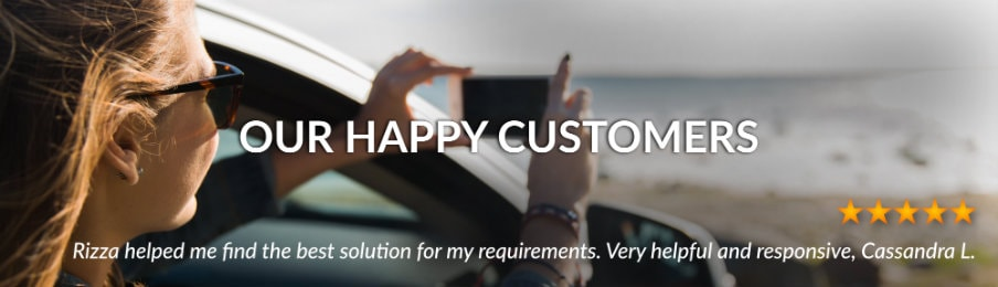 AU customer reviews banner