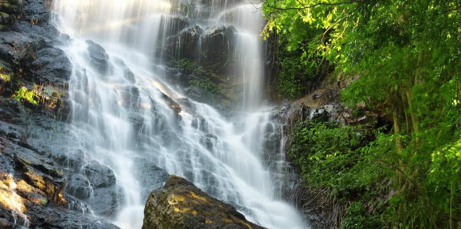 Waterfall near Montville