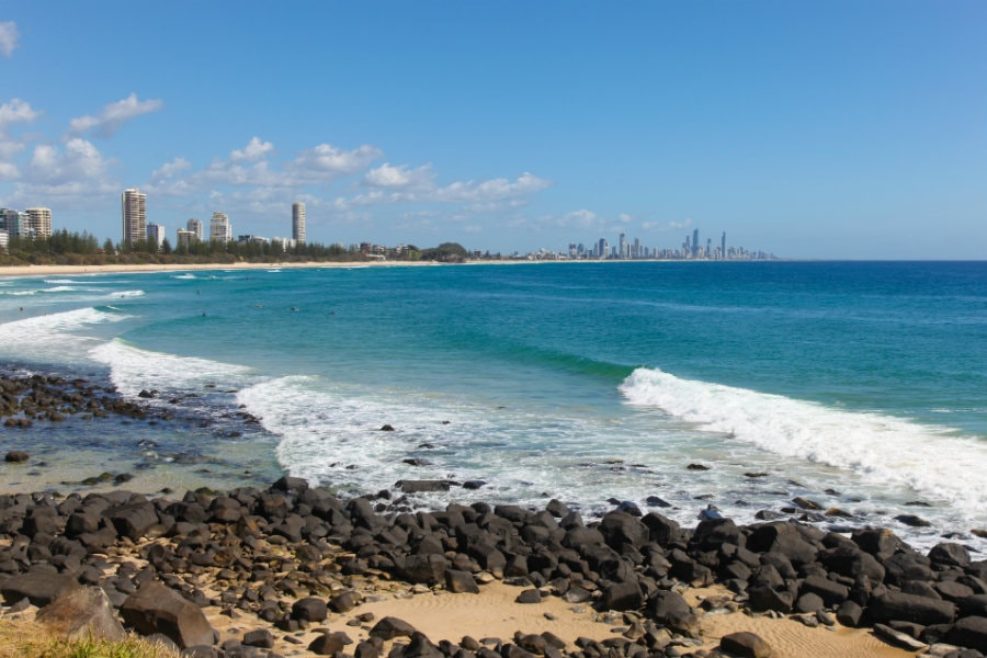 wonderful day at burleigh heads in adelaide