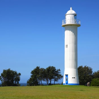 yamba lighthouse in new south wales